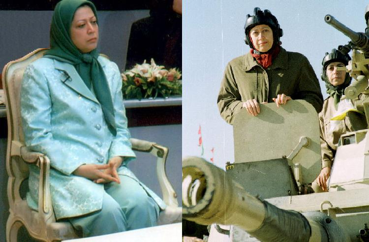 (Maryam Rajavi directly ordered the massacre of Kurdish people) Mujahedeen Khalq MEK in Washington